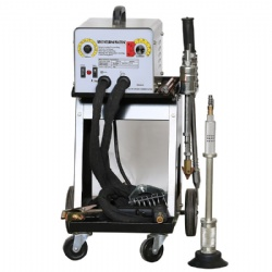 Portable automotive appearance repair machine