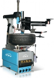 Full Automatic Tyre Changer with Pneumatic Helper Arm