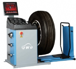 Semi-Automatic Wheel Balancer for Truck