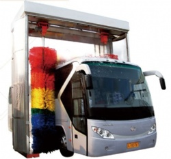 Automatic Bus Wash Machine